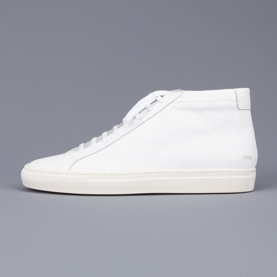 Common Projects Original Achilles Mid 1813 Limited Edition White