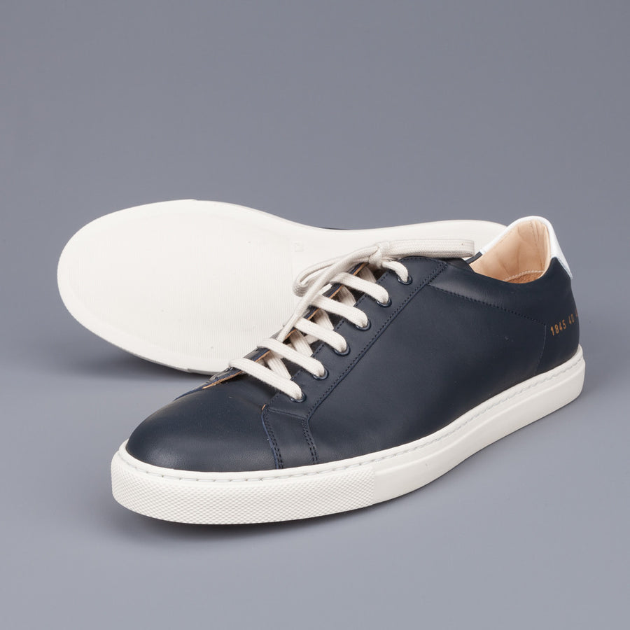 Common Projects 1845 retro navy white