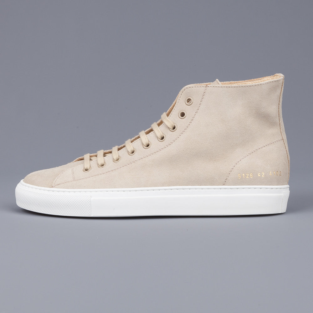 common projects 5126 tournament high waxed suede off white frans boone store. Black Bedroom Furniture Sets. Home Design Ideas