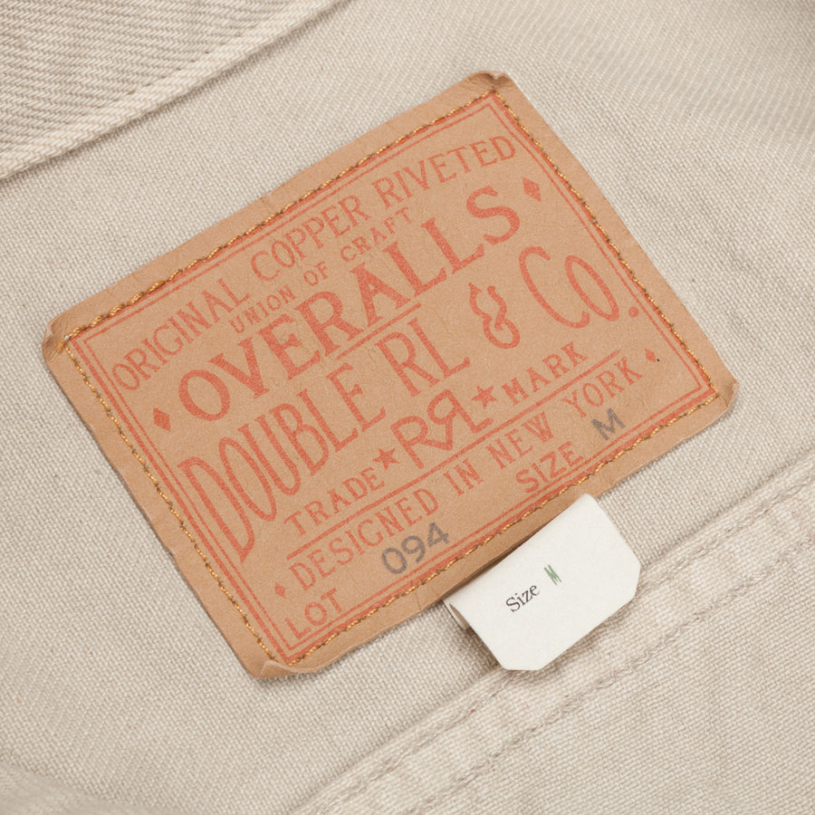 RRL 3RD Edition Denim Jacket Repaired Stone