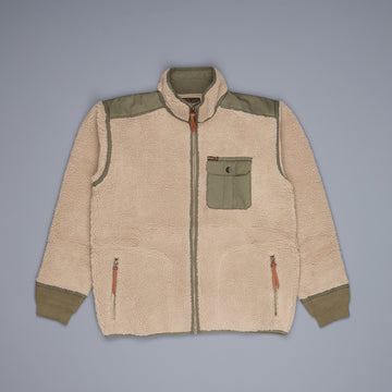 RRL Sherpa liner mountain cream