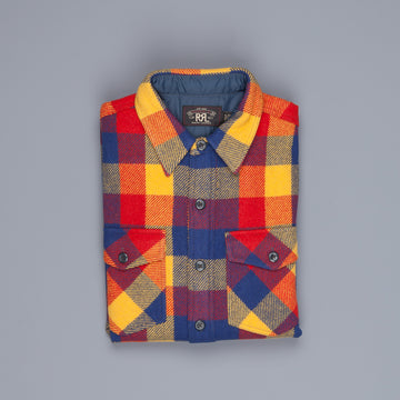 RRL Holt CPO shirt plaid