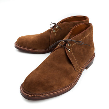 Alden snuff suede chukka on barrie last