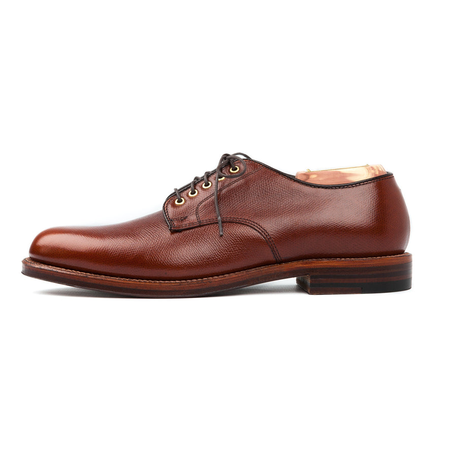 Alden Alpine grain dover pattern shoe on waterlock sole