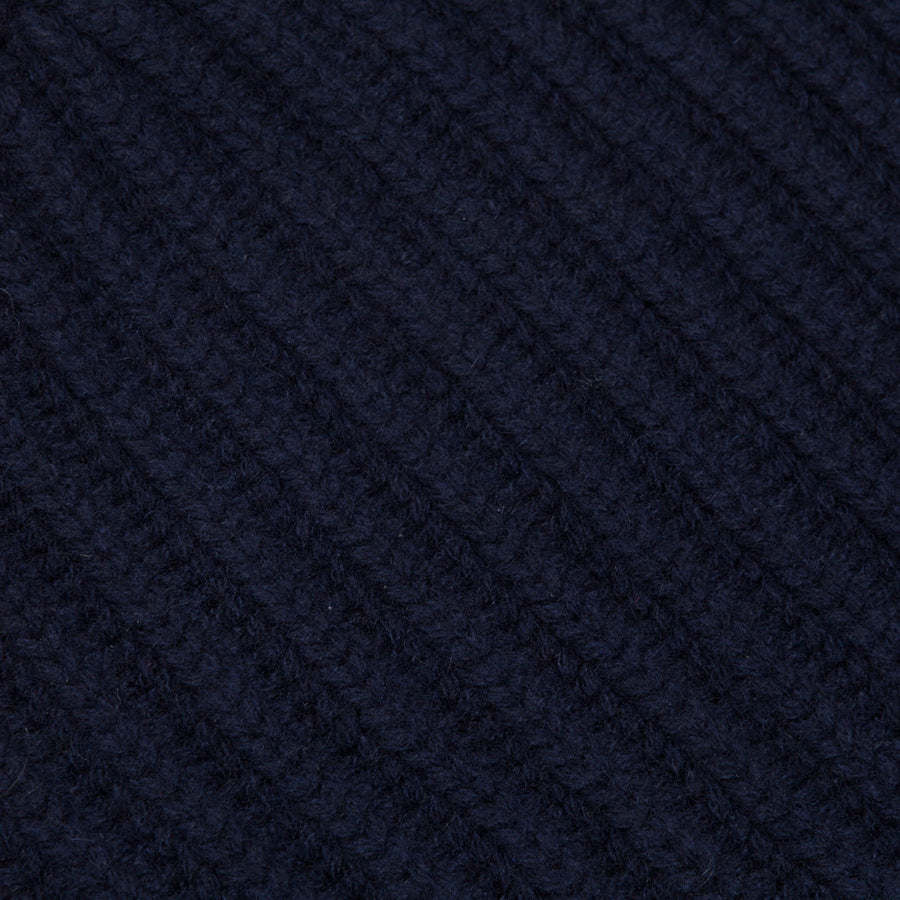 Drakes cashmere hat navy