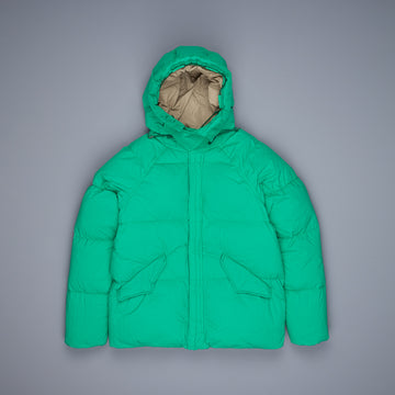 Ten C Artic Down Parka Verde bandiera