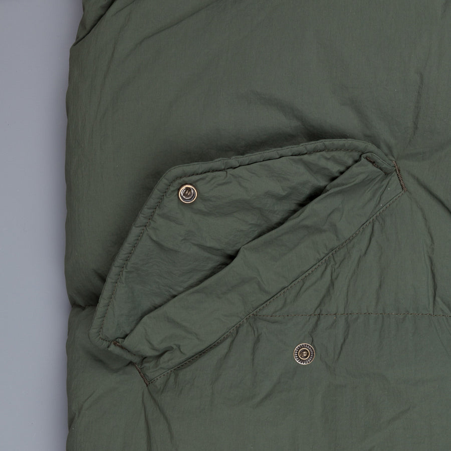 Ten C Artic Down Parka Verde aloe