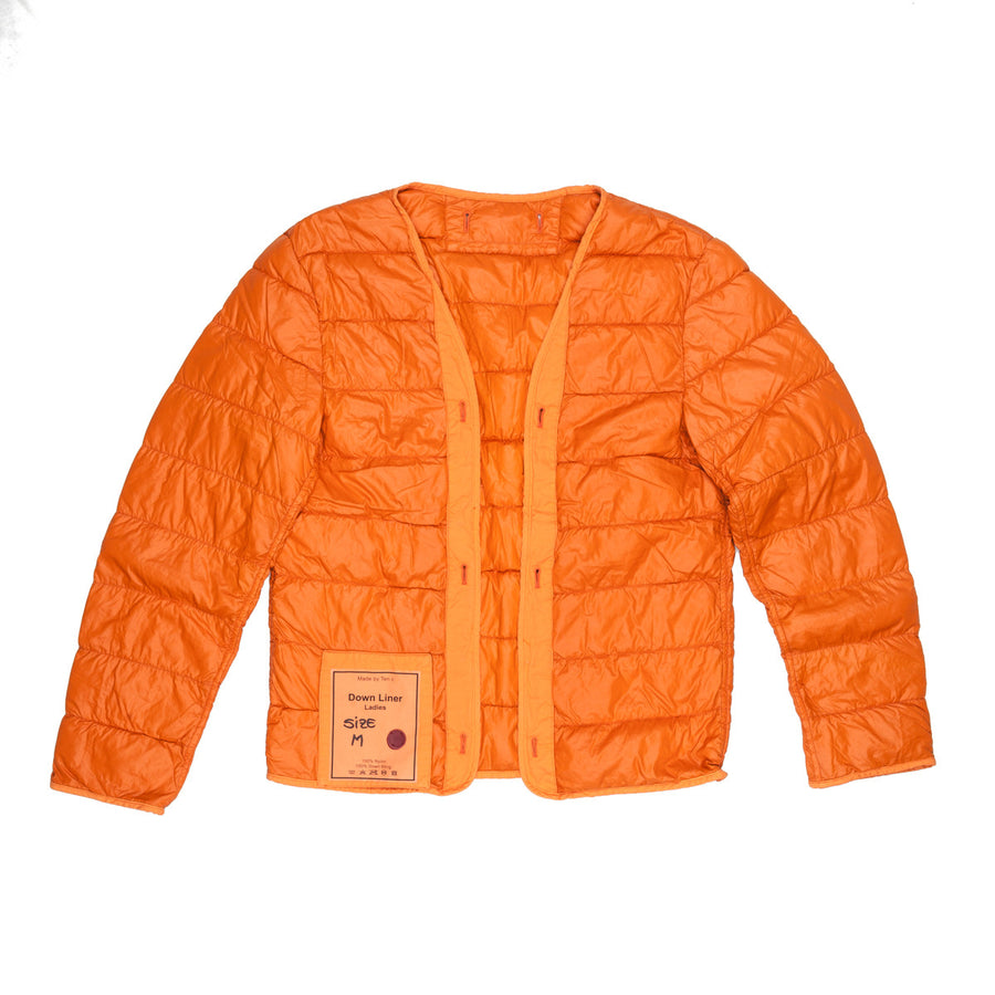 Ten C down liner for women Orange