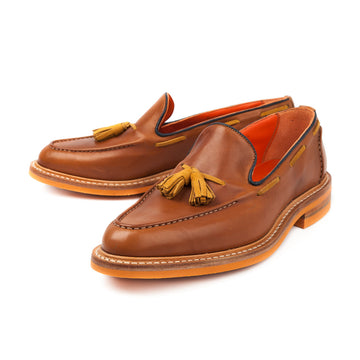 Trickers for Frans Boone gold tassel loafer