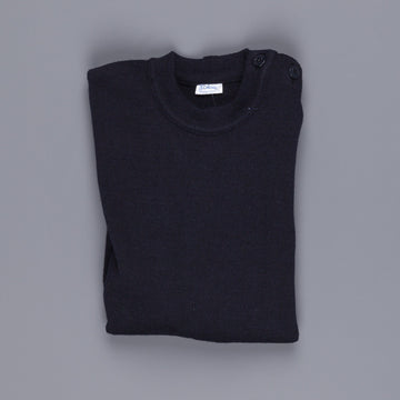 Orcival wool boat crew neck Navy