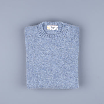 Laurence J. Smith Super Soft Seamless Crew Neck Pullover Stardust