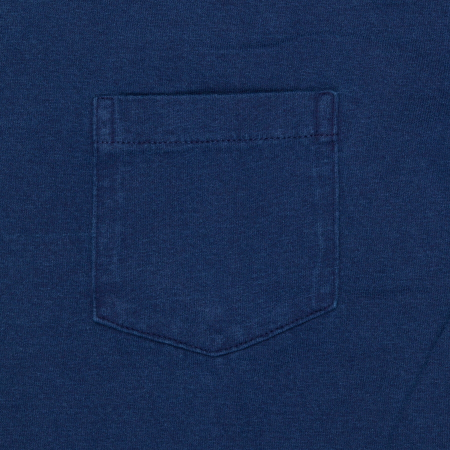 Velva Sheen 1 Pack Indigo Dyed CC Pocket T-shirt