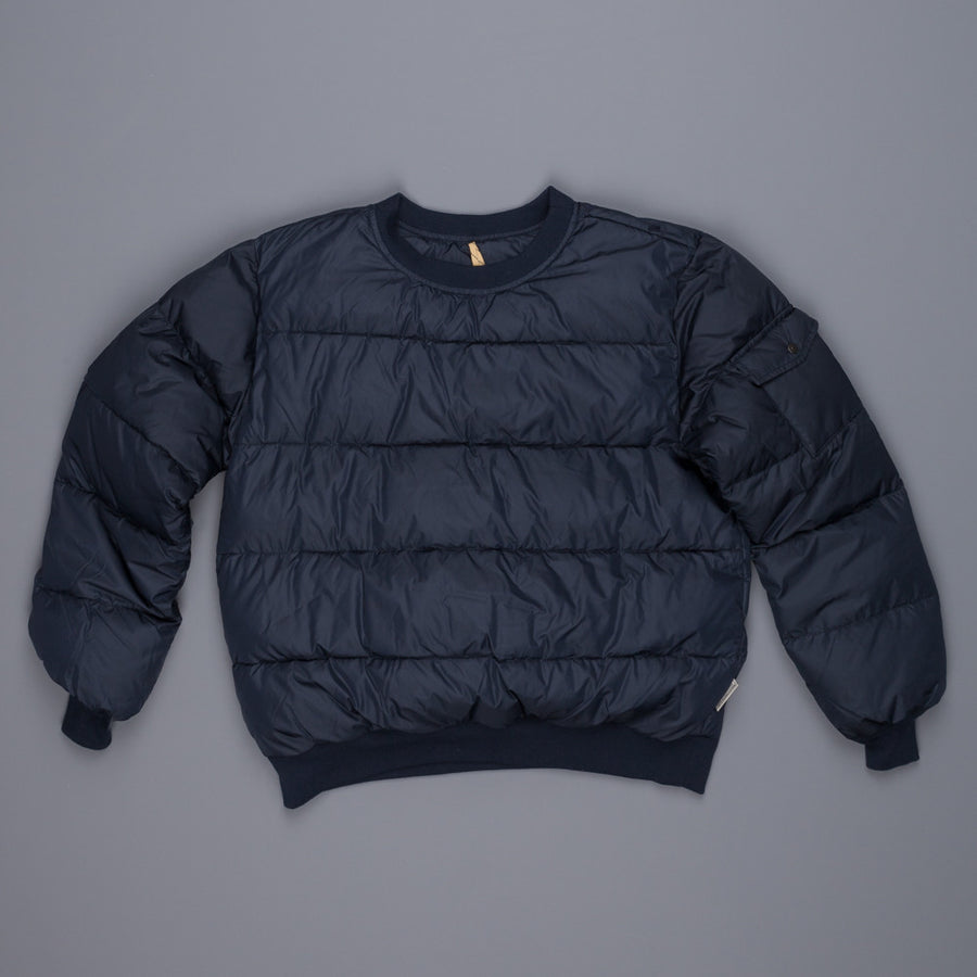 Rocky Mountain featherbed AP down pullover crew neck navy