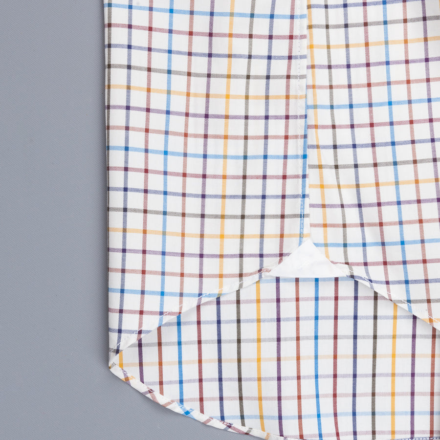 Finamore Milano Shirt Collo Lucio Sette Check