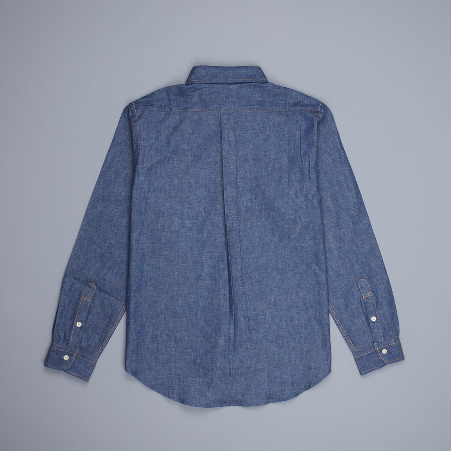 Orslow Buton Down Denim Shirt