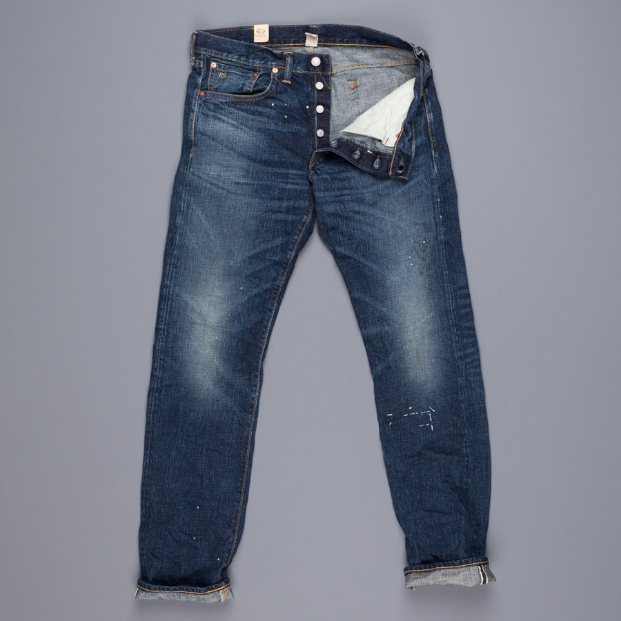 RRL Slim fit east west denim henderson wash