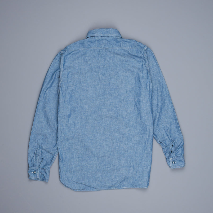 Orslow 01-8070 4.5 oz  chambray shirt