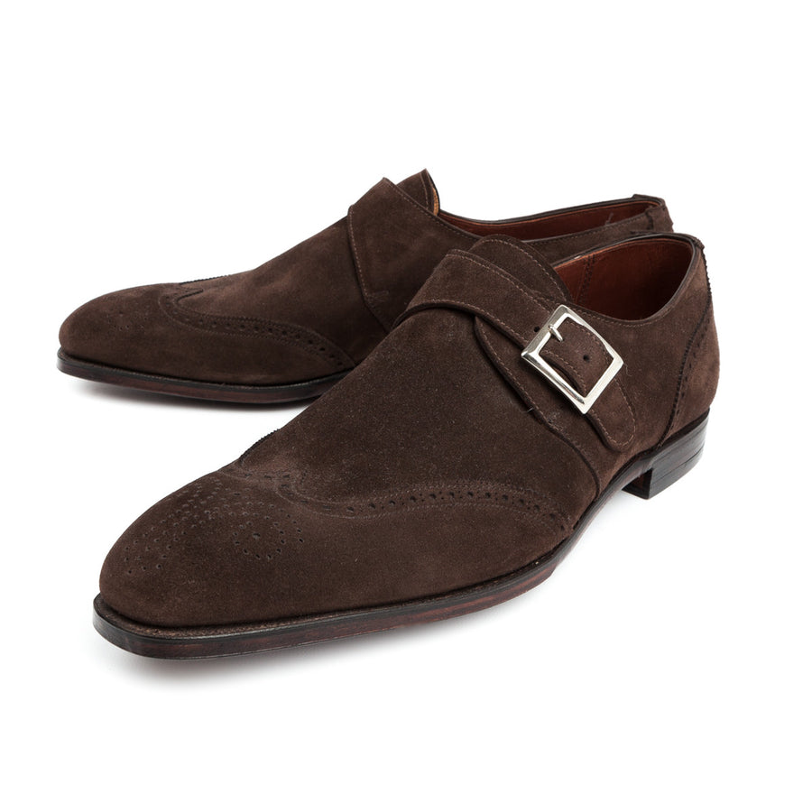 Crockett and Jones Chadwick expresso calf suede