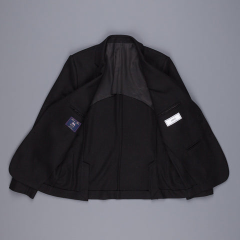Ami half lined 2 buttons jacket Black