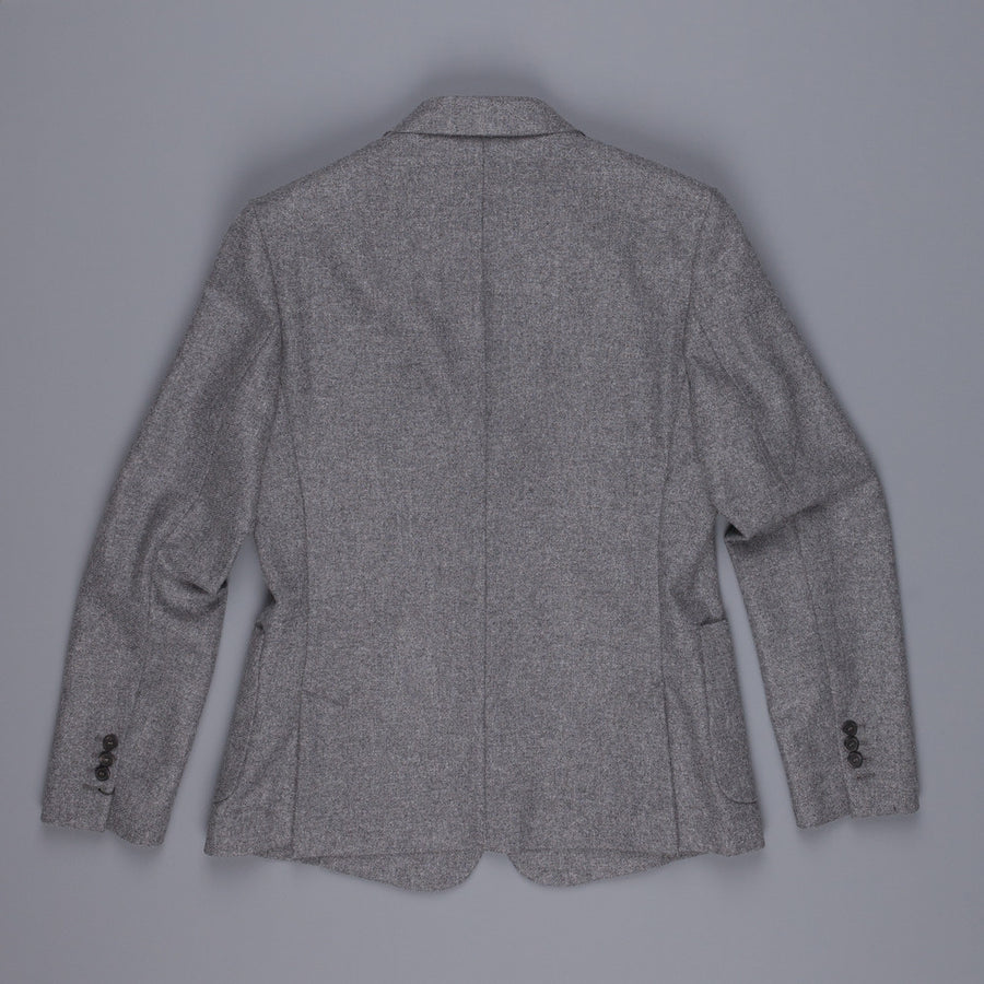 Ami half lined 2 buttons jacket grey