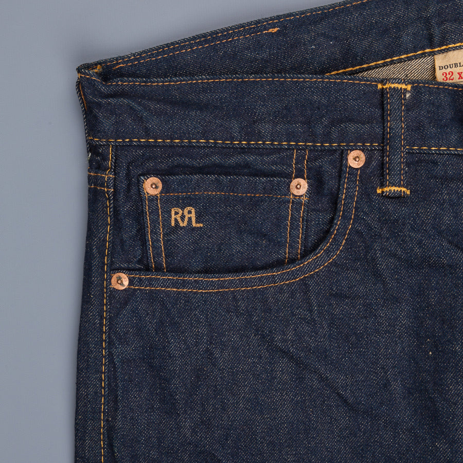 RRL Slim Fit 5 Pocket Once Wash 3