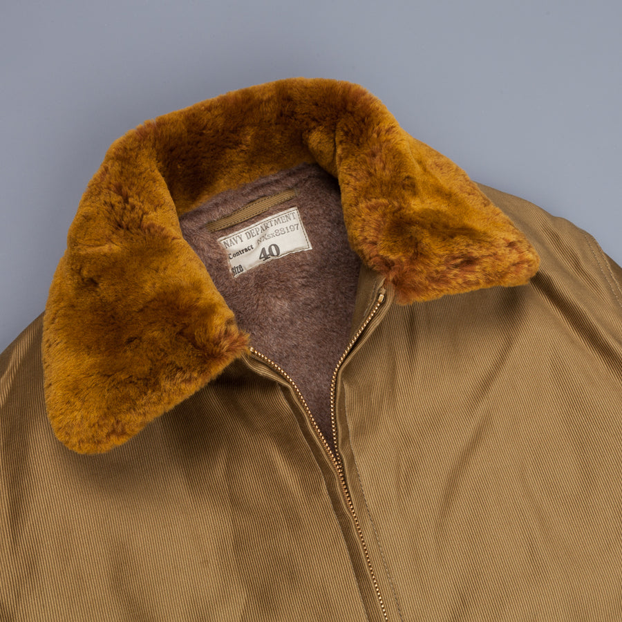 Real McCoy's U.S.N. Cotton Flight Jacket