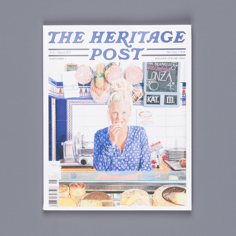 The Heritage post nr 6 August 2015 Women's edition