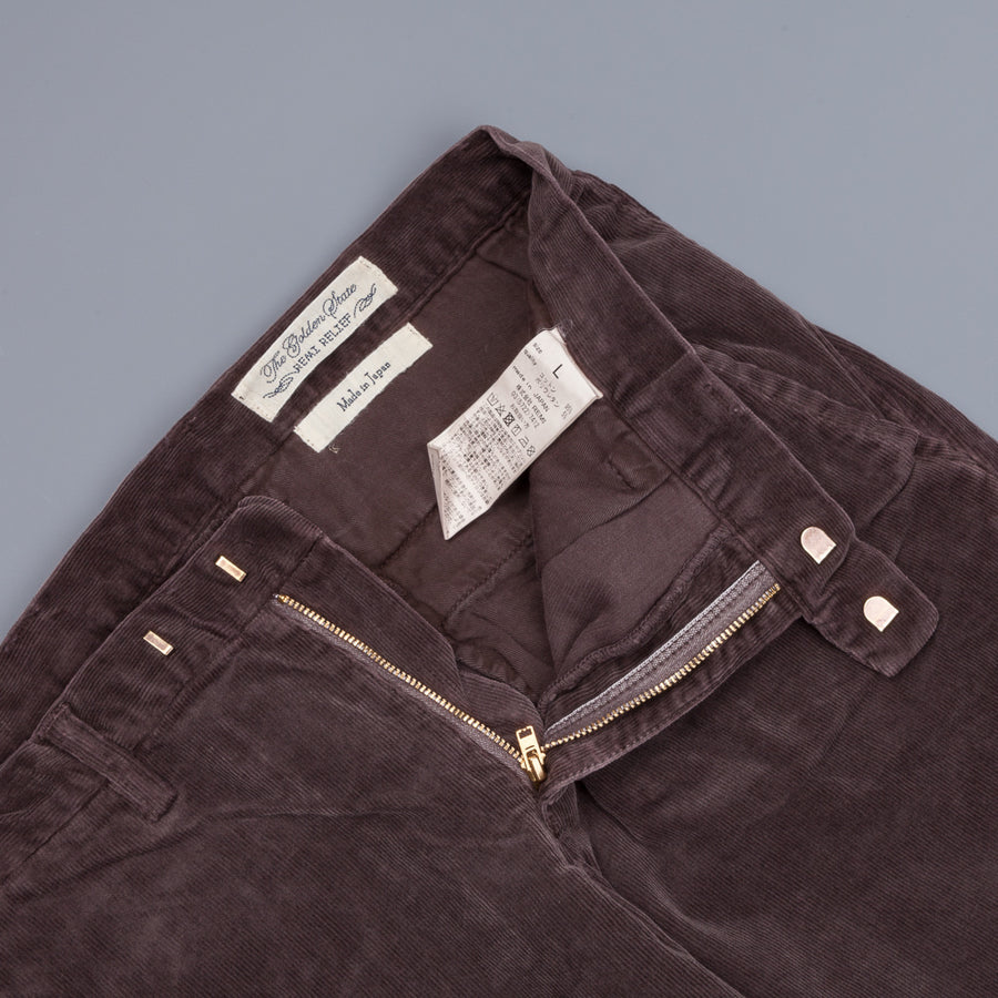 Remi Relief Stretch Corduroy Chino Brown