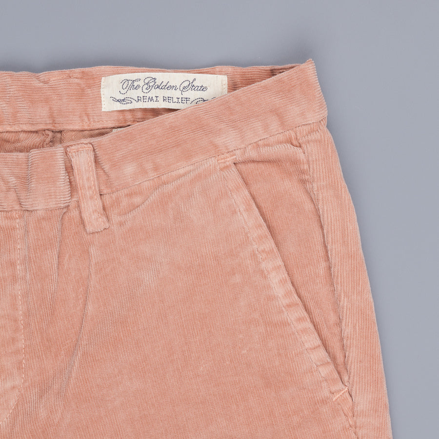 Remi Relief Stretch Corduroy Chino Pink