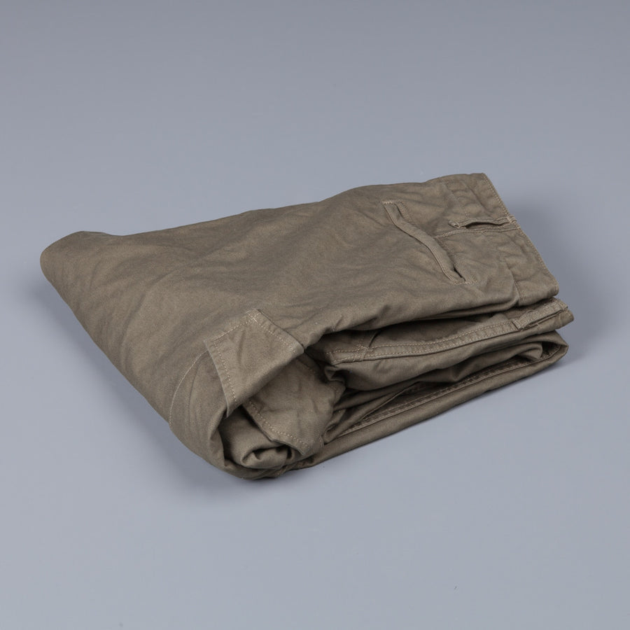 Orslow cargo pants heavy satin cotton