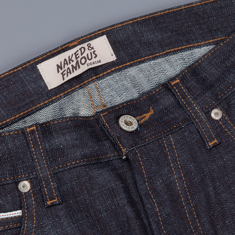 Naked & Famous Denim Super Skinny Guy Slub Stretch selvedge