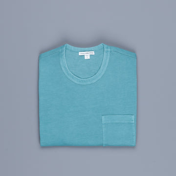 James Perse Crew Neck Pocket Tee Suede Jersey Sprite