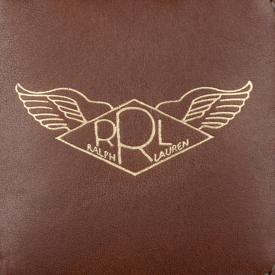 RRL Leather Watch Case Java Brown
