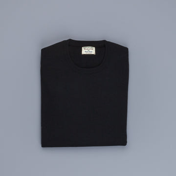 William Lockie Oxton Cashmere Crew Neck black