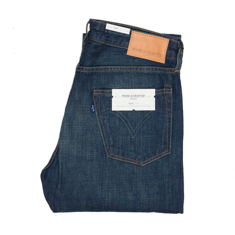 Levis Made and Crafted Tack Steely wash