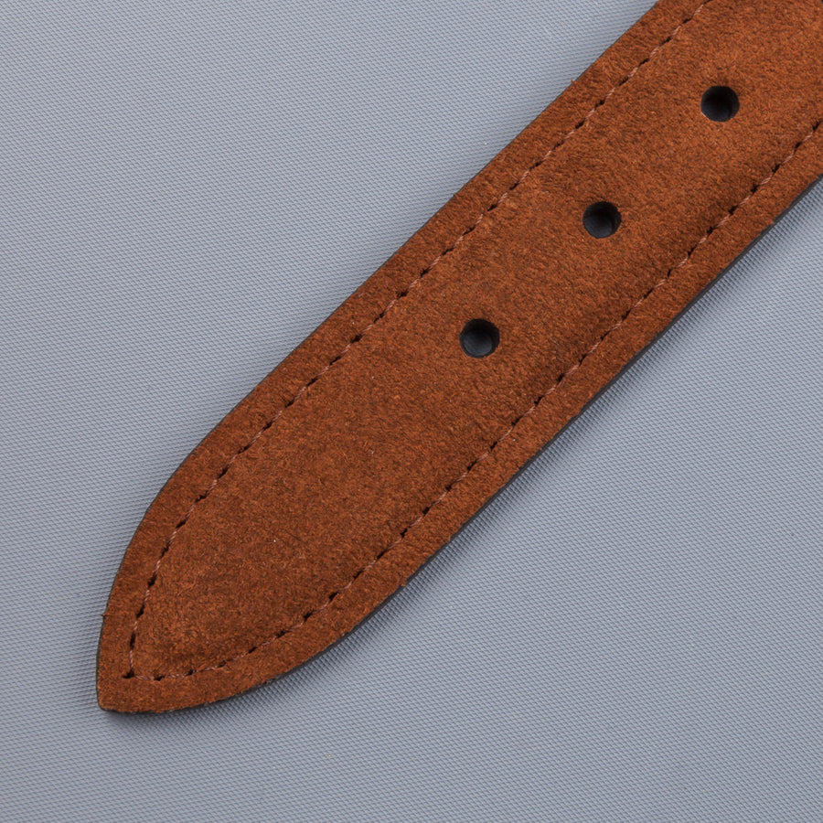 Anderson's x Frans Boone woven belt tan snuff suede