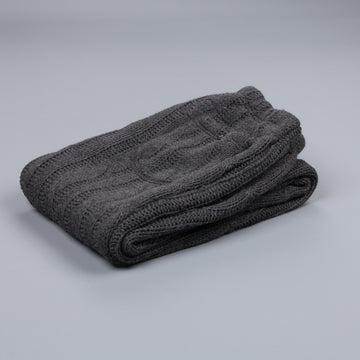 Engineered Garments Knit leisure pant dark grey cable knit