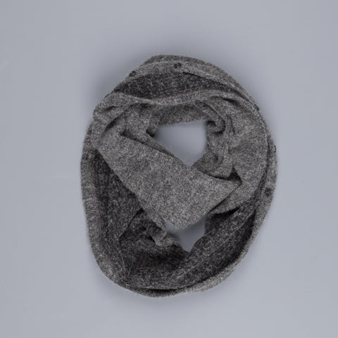 Engineered garments infinity scarf in Grey Boucle