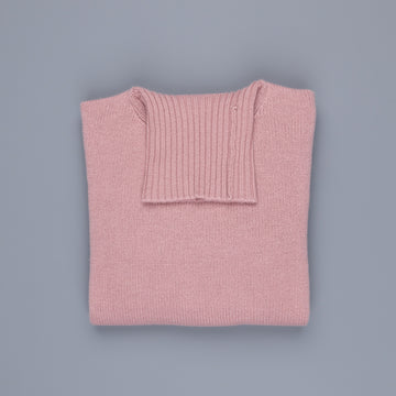William Lockie Gullan Cashmere Roll Neck Ash