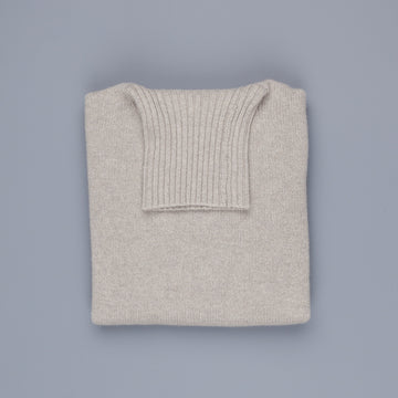 William Lockie Gullan Cashmere Roll Neck Cloud