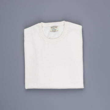William Lockie Oxton Cashmere Crew Neck Ice White