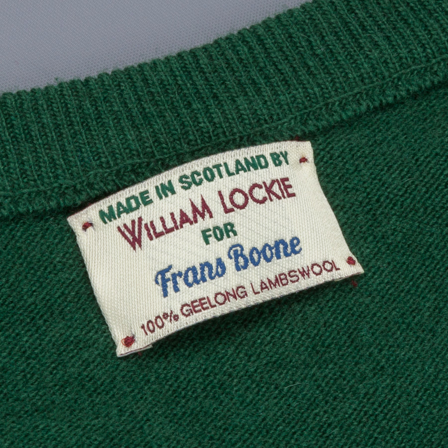 William Lockie x Frans Boone Super Geelong Vintage fit sweater hedgerow