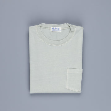 Velva Sheen Heavy oz Pïgment L/S Tee with pocket Grey