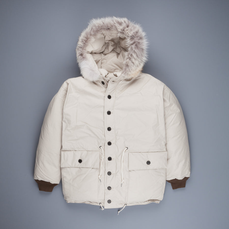 The Real McCoy's Outdoor Explorer Down Jacket Beige