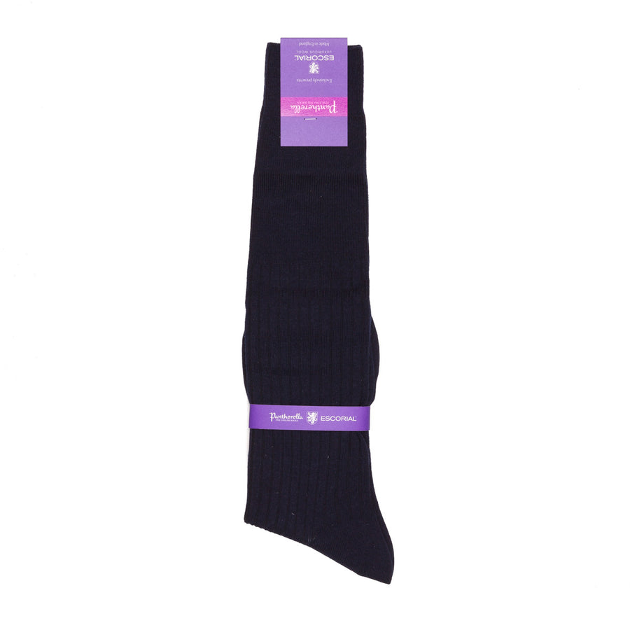 Pantherella knee high socks Escorial wool Navy