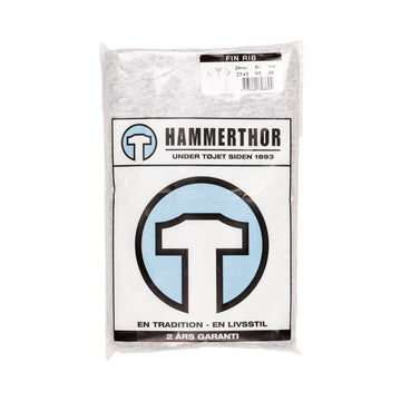 Hammerthor ss button tee grey