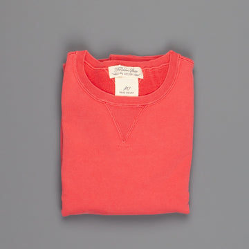 Remi Relief Special finish fleece crew Red