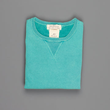 Remi Relief Special finish fleece crew Green