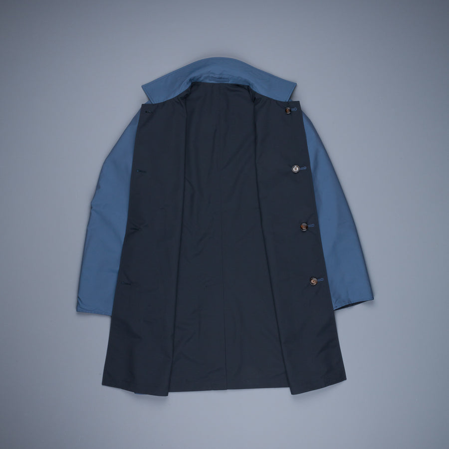 Kired Ben Reversible Coat Blue Notte - Blue Denim