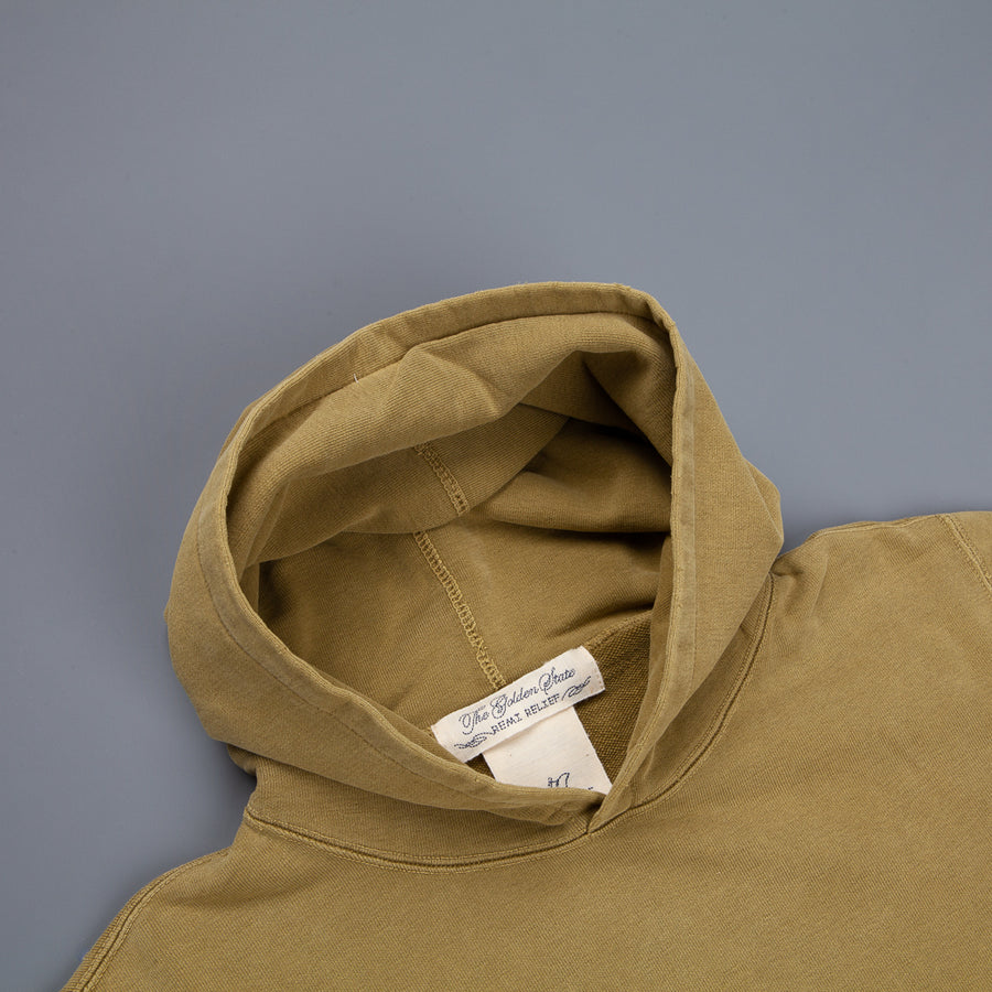 Remi Relief Special Finish Fleece Parka Yellow Olive